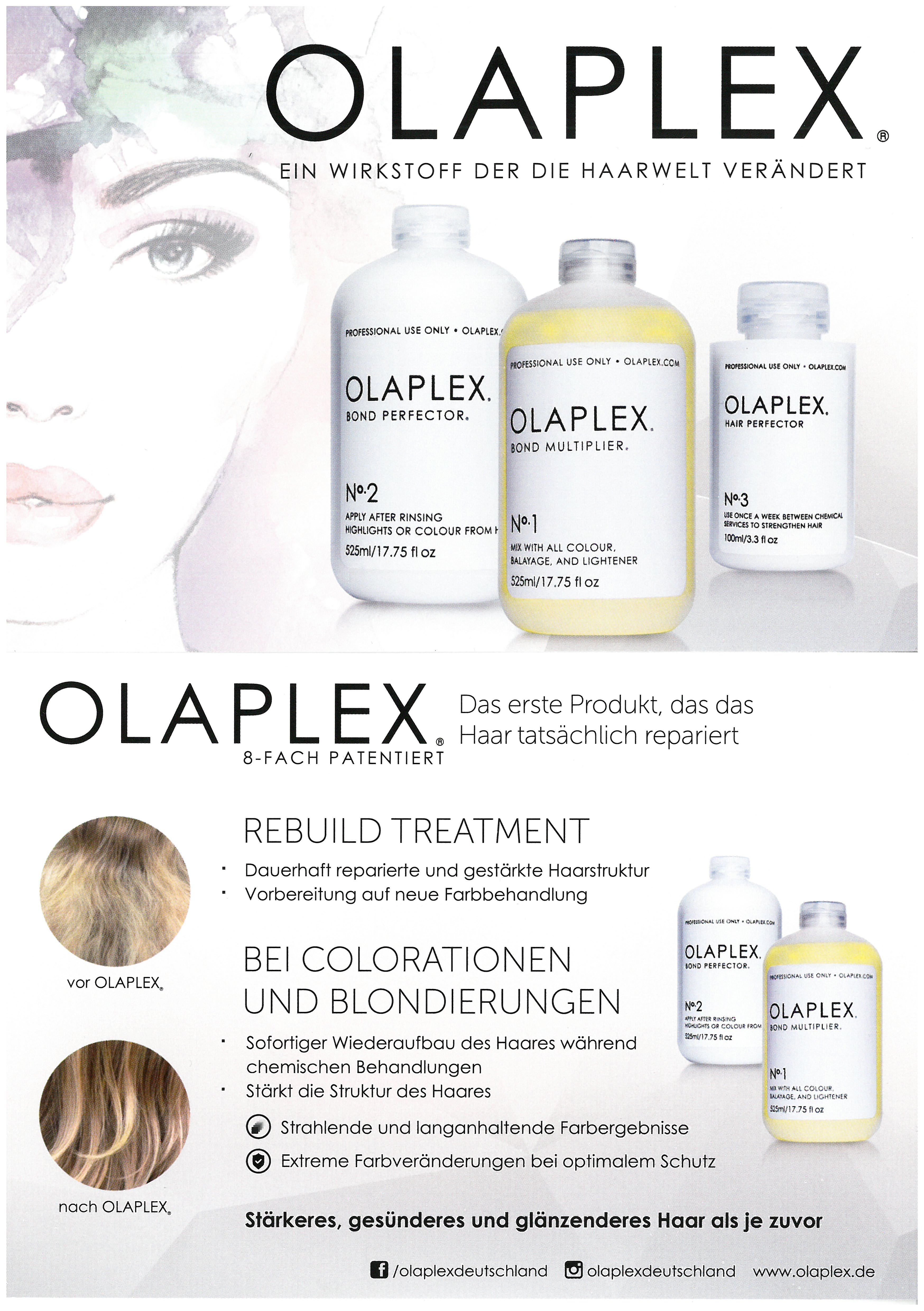 Olaplex Kundeninformation